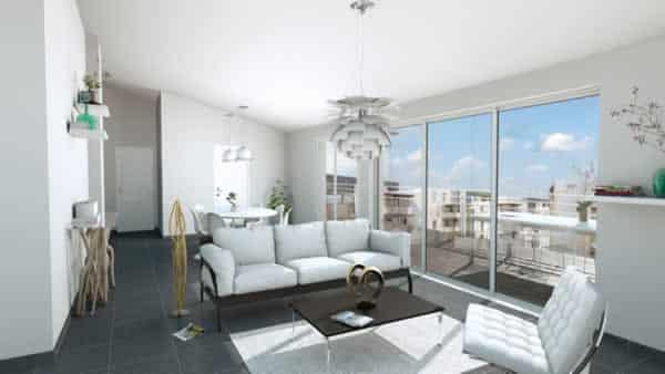 Cedar architect 3D - living room