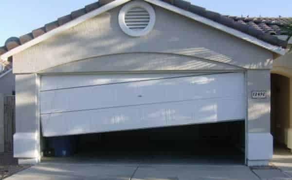 How to repair garage door on a budget