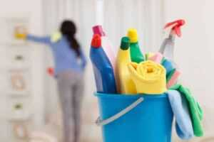 Tips for cleaning out an old house