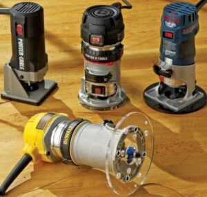 Wood router guide