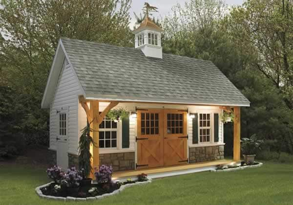 Garden shed is a valuable asset for your property