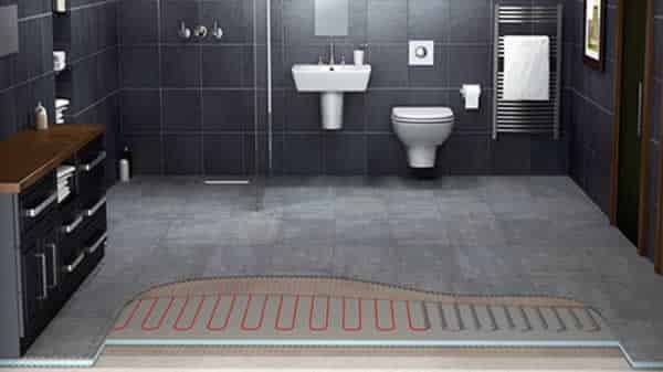 Bathroom heating options handyman tips for Radiant heat flooring options
