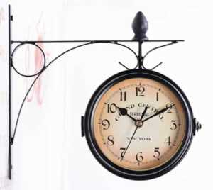 Decorating tips for selling your home fast - wall hanging clock