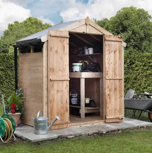 Eco friendly ways to use a shed