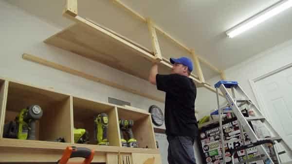 Garage storage space on a budget
