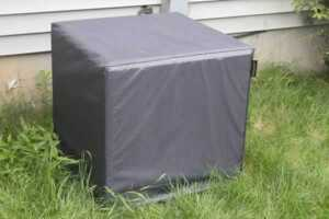 How to prepare your AC for winter - AC cover