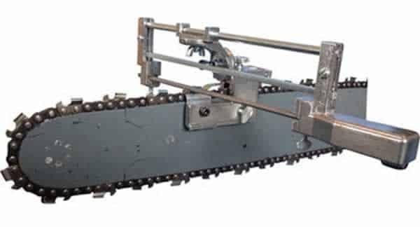 Chainsaw maintenance - chainsaw sharpener