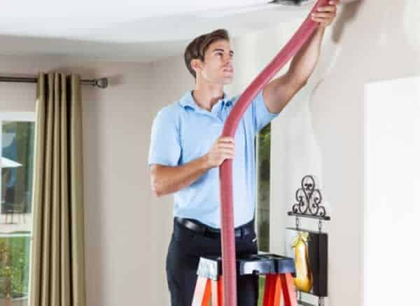 How to improve air quality in your home - air duct cleaning