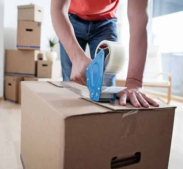 Tips for moving across the country - packing moving boxes