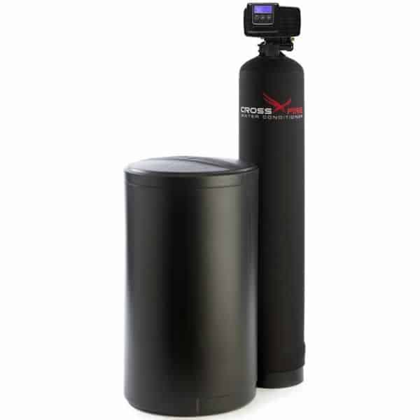Top water softener systems - Fleck
