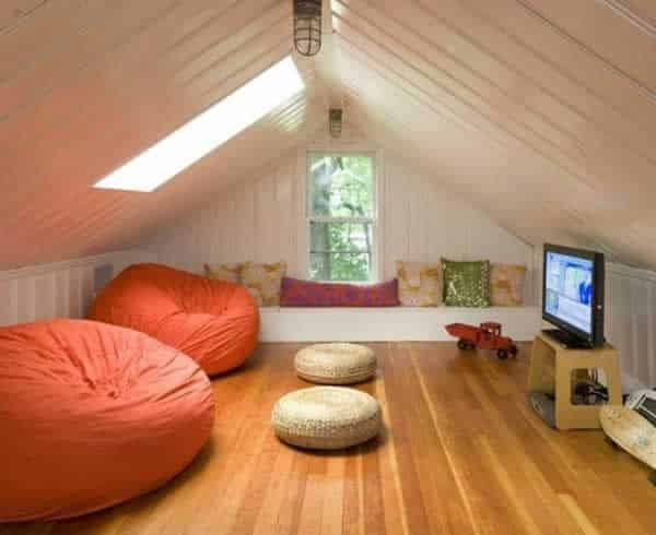 Trendy home improvement projects - attic playroom