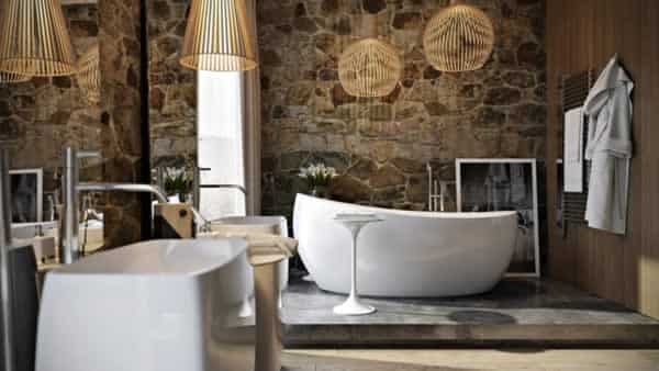 Deep baths are a perfect choice for your bathroom