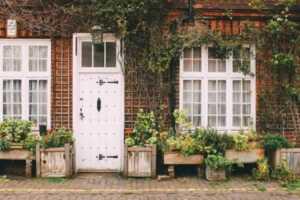 Home renovating on the budget - door