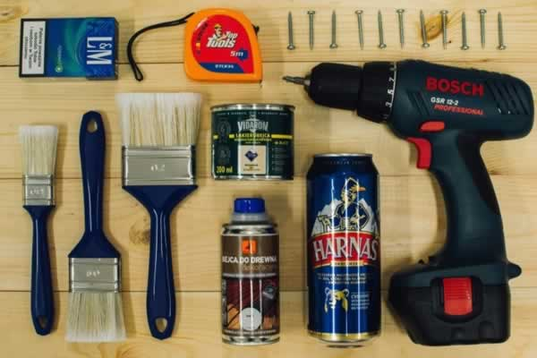 Home renovating on the budget - tools