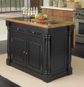 How to set up your new kitchen - kitchen island