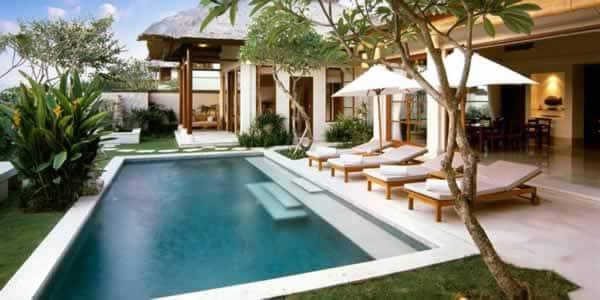 Swimming pool maintenance - beautiful swimming pool
