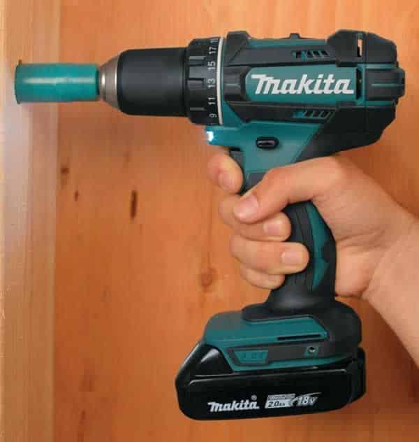 Woodworking power tools - cordless drill