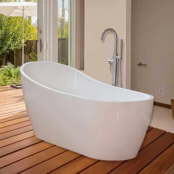 deep baths are a perfect choice for your bathroom - bathtub