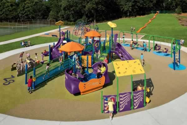 How to maintain commercial playground
