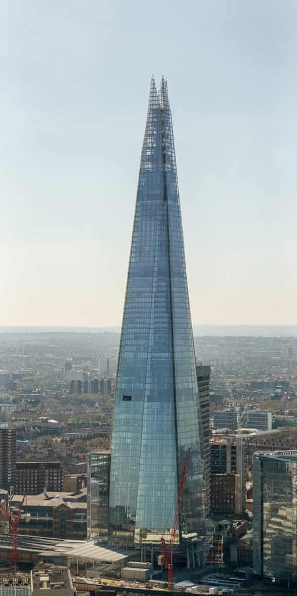 The top 5 steel building in the world - The Shard