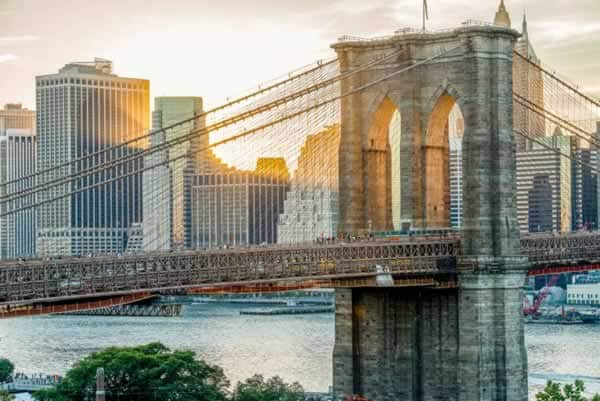 The top 5 steel buildings in the world - Brooklyn bridge