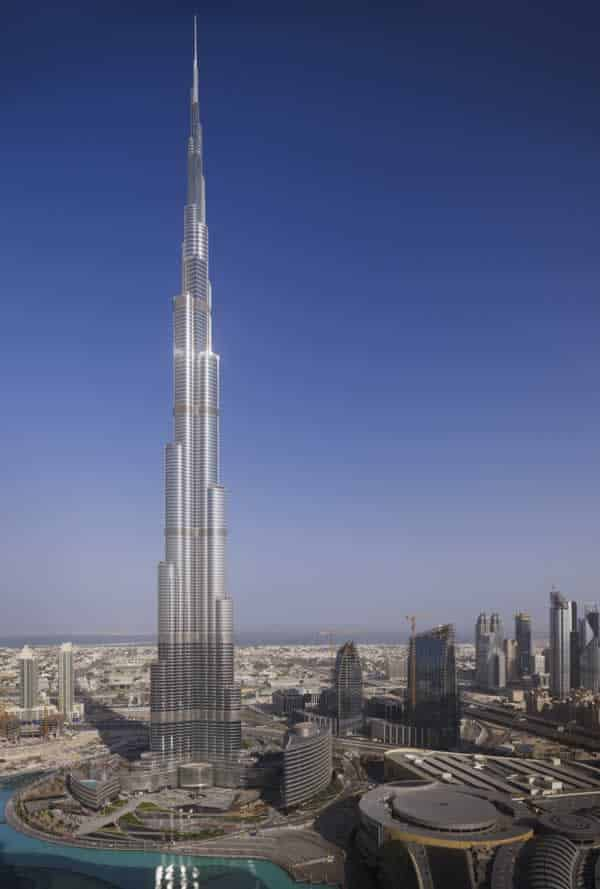 The top 5 steel buildings in the world - Burj Khalifa