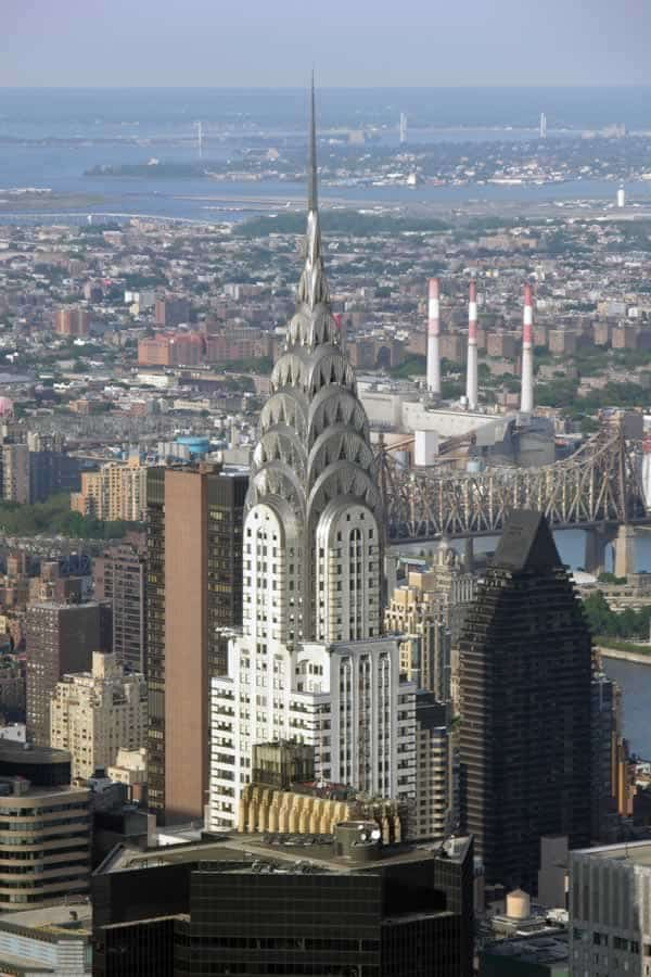 The top 5 steel buildings in the world - Chrysler building