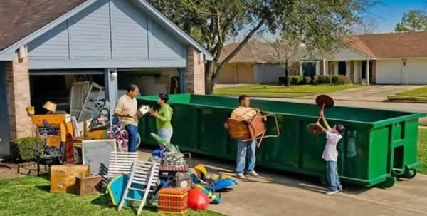 Do I need a permit for dumpster rental - cleaning the house