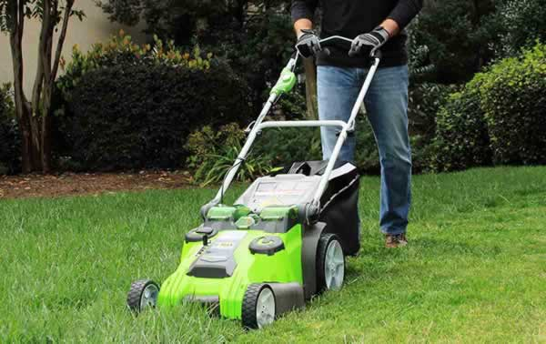 Advantages of cordless lawn mowers