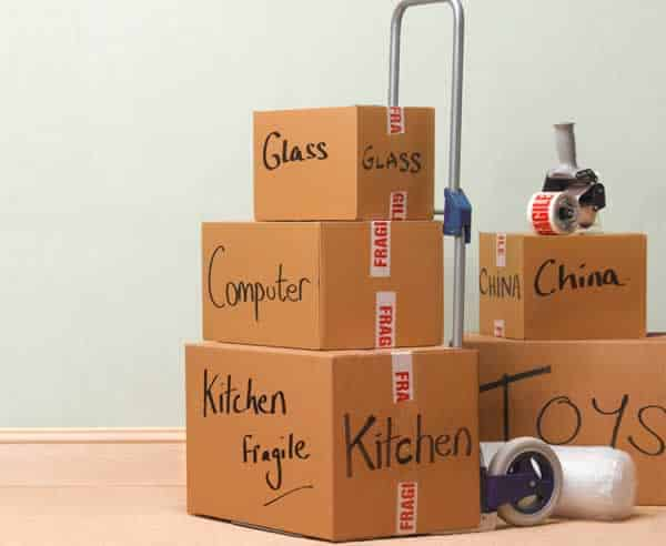 Moving tips that will make your move easier - organized boxes