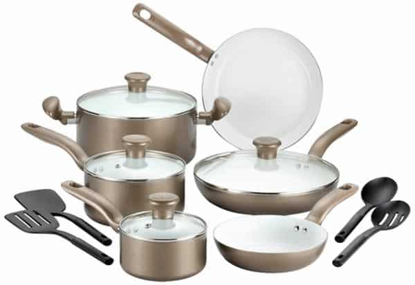Teflon vs. ceramic cookware - ceramic cookware set