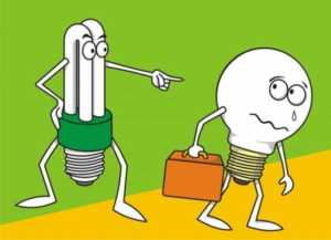 Things you shouldn't do without an electrician - light bulb