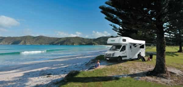 Why travelling in a motorhome is a great summer idea - ocean