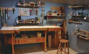 Woodworking tips for beginners - small workshop