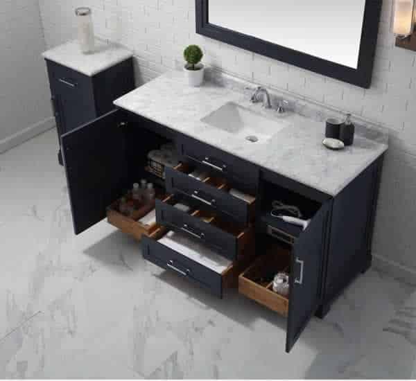 things to consider when remodeling your bathroom - bathroom vanity