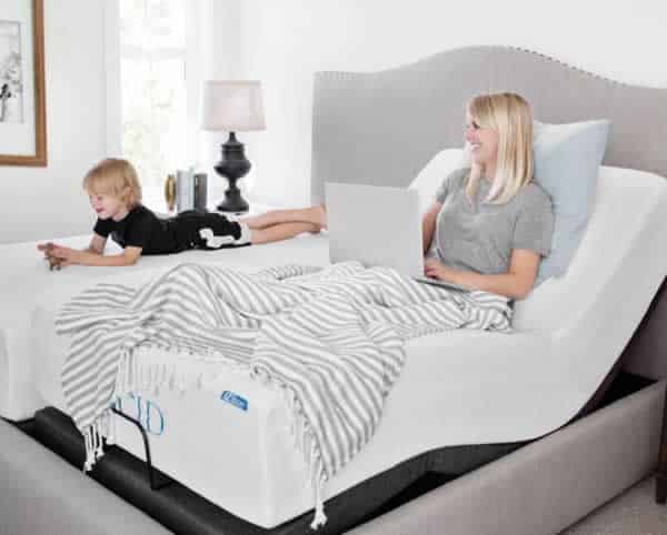 Advantages and disadvantages of adjustable beds - Lucid adjustable bed