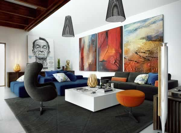 Art improve the appearance of your home