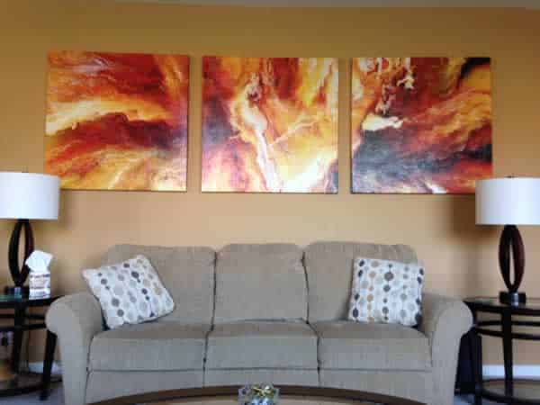 Artwork increase appearance of your home
