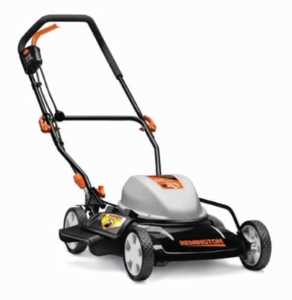 Corded lawn mower and tips how to use one - Remington mower