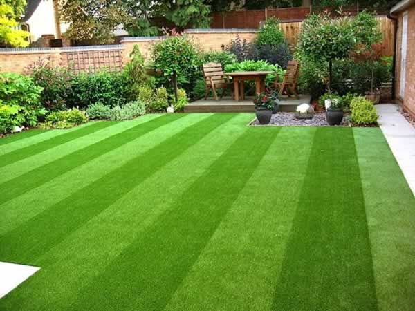How to care for artificial grass yard