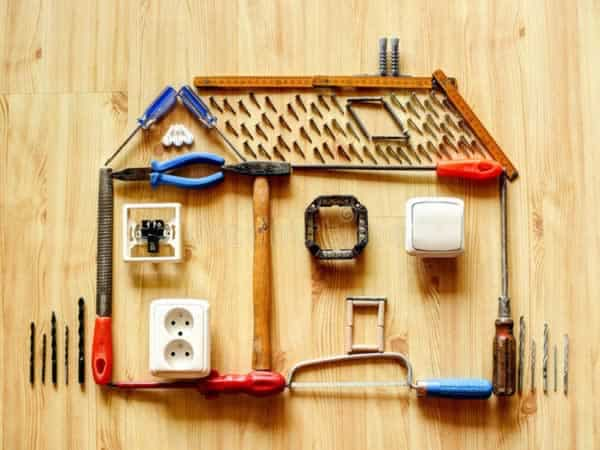 How to save money on home repairs - home improvement tools