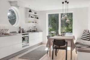 Modern makeover of a vintage home - Scandinavian home design