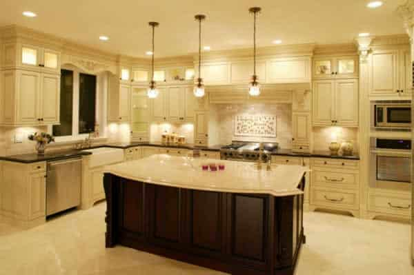 Transforming kitchen on a budget - kitchen lighting