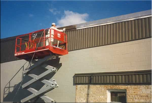 How to prepare commercial building for new exterior paint - painting commercial building