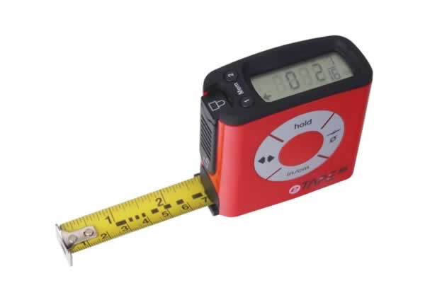 Tools for DIY projects - digital tape measure