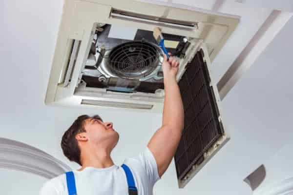 When to upgrade from DIY to a professional repair - HVAC repairman
