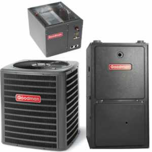 DIY upkeep - Goodman Gas Furnace Split System