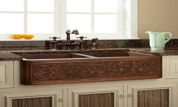 How to choose the right kitchen sink - farmhouse kitchen sink