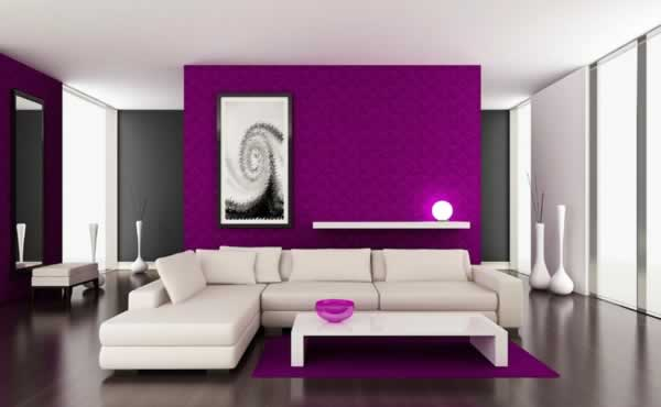 Important things to consider before you pick a paint color - purple room