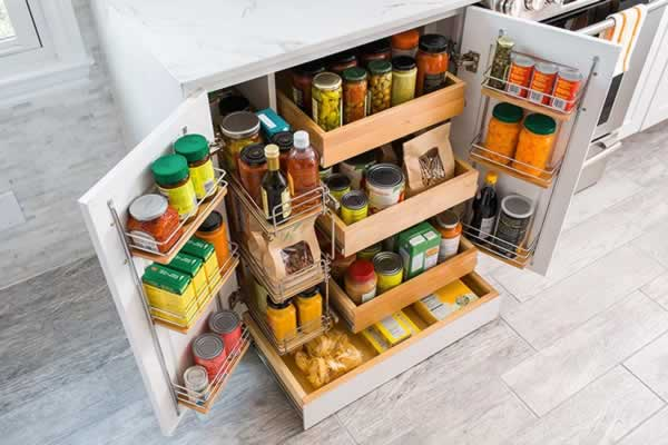 Most common kitchen design mistakes to avoid - kitchen storage space